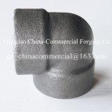 Aço inoxidável de aço de carbono soldado forjando o cotovelo dos encaixes de tubulação da carcaça