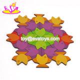 Настройка различных цветов 3D деревянные рыбы Головоломки для детей W14A183