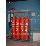 Highpressure Systemen van Supression van de Brand van het Gas van Co2