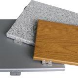 Revestimento de alumínio de construção da parede exterior com grande preço