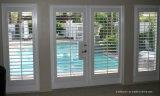 porte française articulée par main droite de balcon extérieur de patio en verre Tempered de 35-Inch x de 83-Inch
