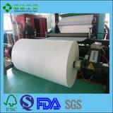 Nahrungsmittelgrad PET überzogenes Papier für Zwischenlage-Papier-Verpackung