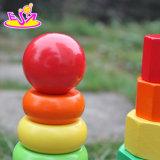 Venda por grosso de madeira do bebé Shape Sorter brinquedos para crianças a forma de madeira de Empilhamento Sorter Brinquedos, crianças melhores Shape Sorter brinquedos W13D130