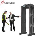 Detector van het Metaal van de Veiligheid van het politiebureau de Draagbare met Levering van de Batterij van 18 Streken de Reserve
