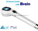 Chuveiro de filtrado inteligente - remover as impurezas e de cloro, display digital, a vida do filtro, Poupe 20% de água