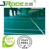 De binnen Sporten die van het Hof van het Badminton Oppervlakte vloeren