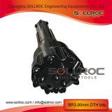 DHD340 para baixo do orifício martelo DTH Bits para perfuração