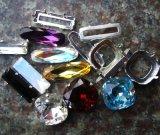Ponto de volta Octagon Cordão de cristal para vestido de casamento