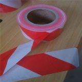 중국 공급자 빨강 백색 줄무늬 경고 테이프 주의 테이프
