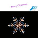 Decoração de Natal (JM-Q01-Floco de neve)