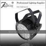 iluminación de la etapa al aire libre de la luz DMX de la IGUALDAD de 18X15W RGBWA LED