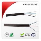 1-2 Optische Kabel van de Vezel FTTH van de Vlinder van vezels de Binnen