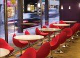 대중음식점 둥근 Corian 식탁 또는 다방 테이블