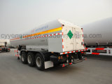 ASME GB Standardsの化学Liquid Fuel Tanker Semi Trailer