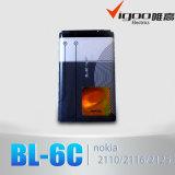Alta capacidad de 100% Nuevo BL-6C 6c Batería para Nokia