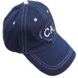 100% algodón lavado gorra de béisbol (W-D421)