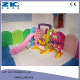 2016 малышей счастливой игрушки скольжения крытых пластичных сползают с стабилизированным основанием