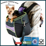 Course aimable Backpackbag Sh-17070212 de transporteur de polyester du produit 600d de crabot d'animal familier
