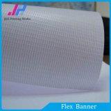 Bandera ligera blanca de la flexión del PVC Frontlit para la impresión de Digitaces
