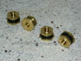 大きい穴の単一のくねりの旋回装置のタイヤ弁または黄銅のタイヤ弁Trj650