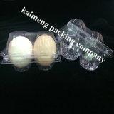 Bandejas plásticas del huevo del pollo del PVC de Diaposable para el paquete promocional