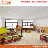 Хранение игрушки Daycare малышей Shelves шкаф для Preschool