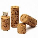 Bester Hochzeits-Geschenk-Wein-Korken USB-Blitz fährt Stock-Masse