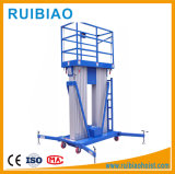 4-22m antena aluminio elevador de tijera de plataforma de trabajo de la plataforma de trabajo