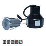 indicatore luminoso sotterraneo di 3W LED Inground per illuminazione del giardino