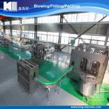 Terminar a linha de produção da bebida da água mineral