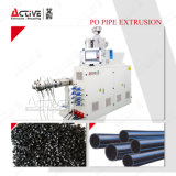 단 하나 나사 HDPE 관 압출기 기계 또는 관 생산 라인