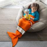 Coperta lavorata a maglia sirena di Clownfish per i pesci di Nim dei bambini