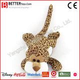 Giocattolo molle poco costoso del leopardo dell'animale farcito della peluche per i capretti/bambini