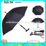 Зонтик Sun тросточки верхнего качества выдвиженческий для старика