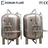 Корпус из нержавеющей стали промышленной воды песок фильтр