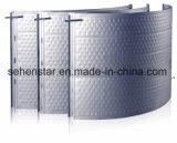 Placa de la hendidura de la placa de almohada de intercambio de calor de la eficiencia de la placa de inmersión