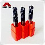 Инструменты носа шарика Changzhou HRC55 4flutes филируя для металла