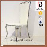 Кожа PU рамки нержавеющей стали мычки обедая стул венчания стула