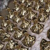 L'Imitation de l'or en fonte impérial&pieds en laiton