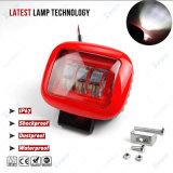 4 pulgadas de color rojo de 30W Epistar LED Luz coche automóvil