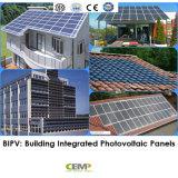 Applicazione di BIPV (sistema Integrated di PV della costruzione) del comitato solare di 280W Monocrystyalline