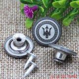 Bouton de jeans et rivets métalliques sur le commerce de gros