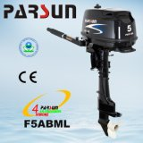 Outboard marinho do curso de F5ABML 5HP 4