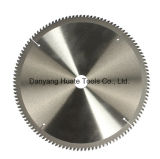 El carburo de corte de aluminio de madera de Tiped Tct Hoja de sierra circular para el corte de aluminio y madera