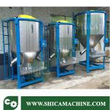 Tipo vertical mezclador plástico del mezclador de los gránulos