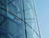 Vidro Tempered curvado dobrado 12mm Tempered de vidro de vidro de segurança