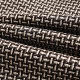ソファーの家具製造販売業のための安い卸し売りポリエステルソファーファブリック模造リネンファブリック