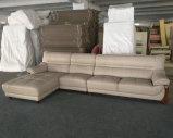 Arrivée neuve L sofa de cuir de forme pour les meubles de salle de séjour (A75)