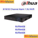CCTV original NVR del video de la marca de fábrica 8CH Digitaces de NVR4408 Dahua