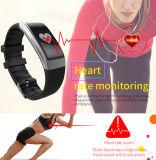 Монитор кровяного давления браслета ODM ECG франтовской